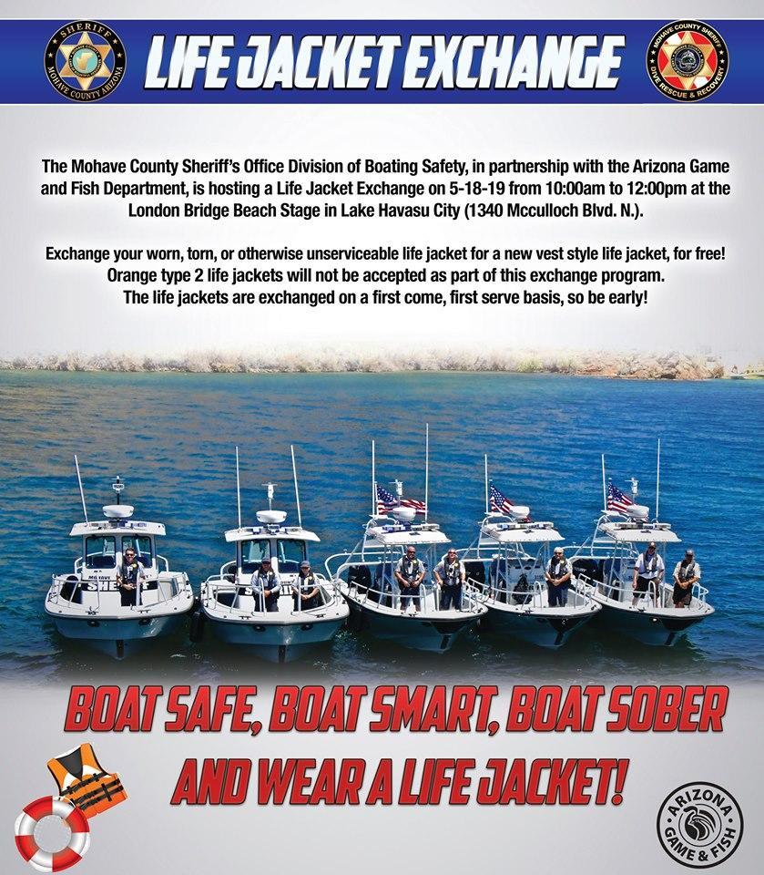 Life Jacket Exchange - Lake Havasu City