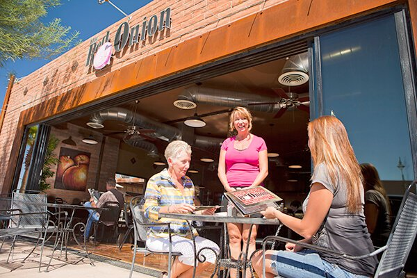 The Red Onion, a Downtown-area Lake Havasu City restaurant