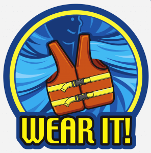 Don't Confuse a PFD with a PDF  Wear a Life Jacket  - Lake