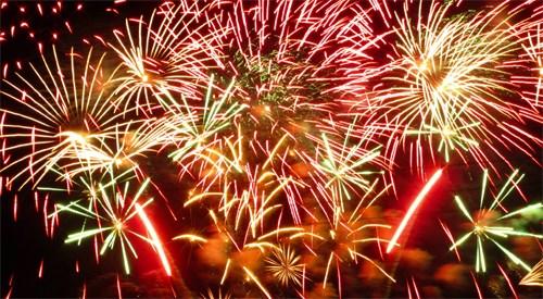 31st Annual Western Winter Blast Pyrotechnics Show - Lake