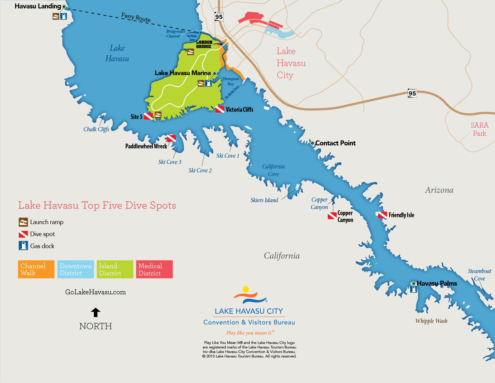 Map Downloads - Lake Havasu City on