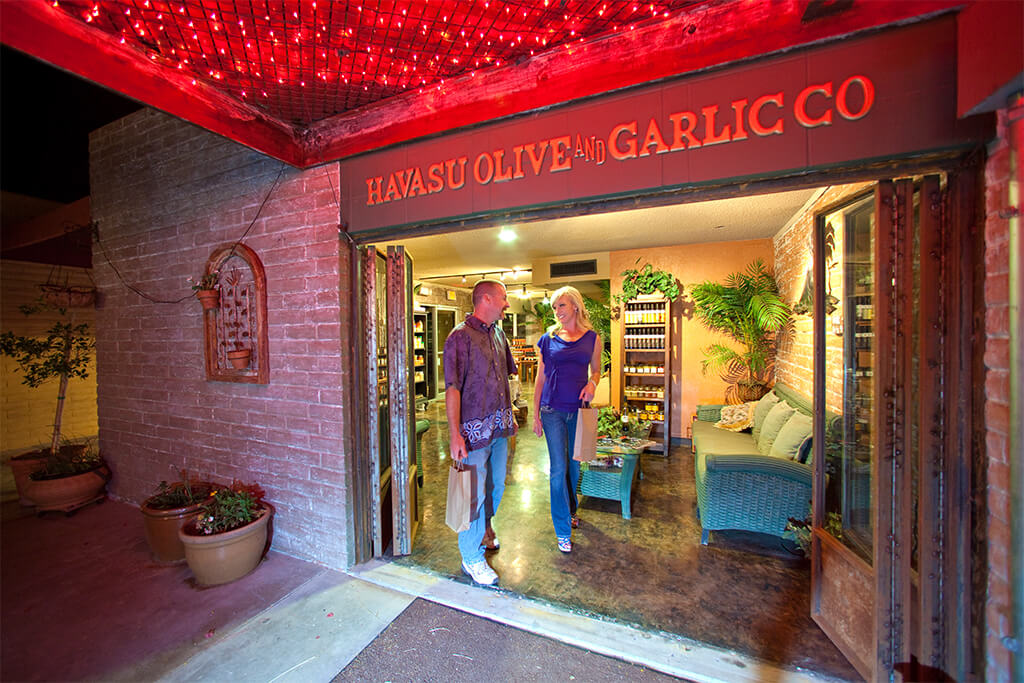 Shopping in Lake Havasu City's Downtown District